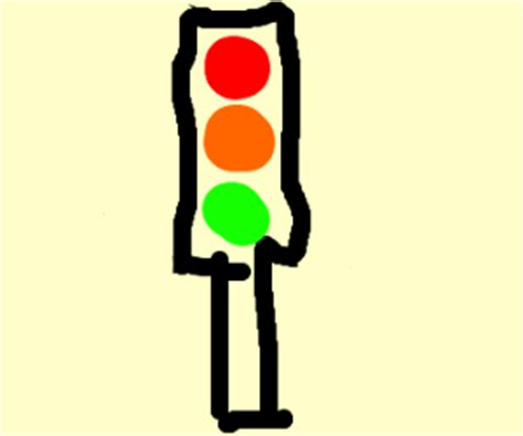 Traffic Light Drawing by Traffic Light Drawing By Apollosilver