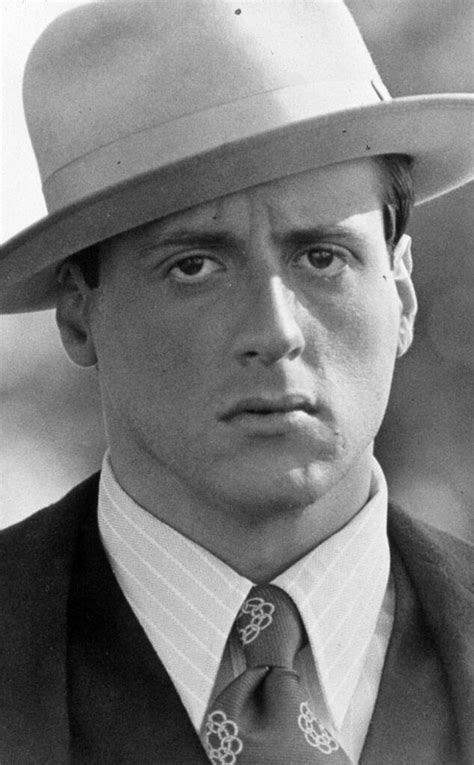Sylvester Stallone, Capone from Hollywood's Gangster Style