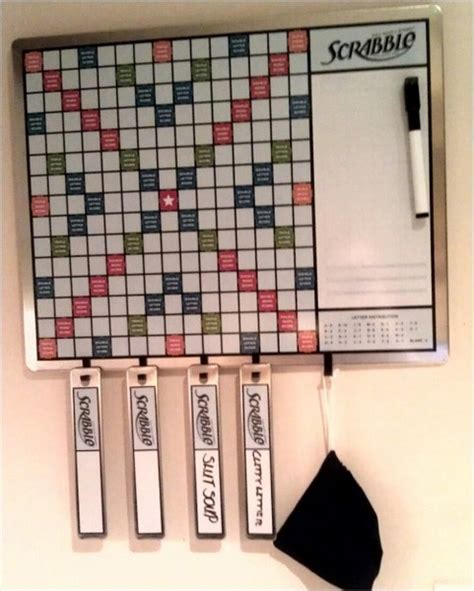 best scrabble best scrabble board magnetic and wall mounted redgage