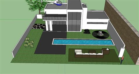 House Design Sketchup It 200 Steven Yang Sketchup Project 3 House