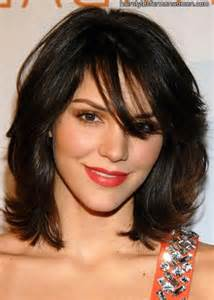 hair styles with flips for medium layered haircuts for fine hair maybe with a little