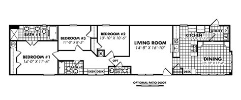 18 x 80 mobile home floor plans 18 x 80 mobile home floor plans gurus floor