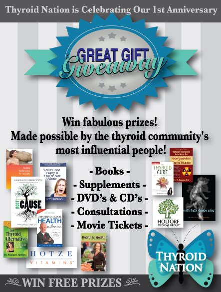 Great Gift Giveaway - great gift giveaway thyroid nation radio