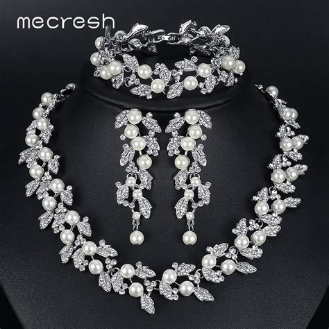 Aliexpress.com : Buy Mecresh Simulated Pearl Bridal