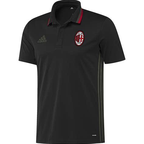 Kaos Polo Ac Milan 9 adidas hommes maillot football ac milan entra 238 nement polo t shirt top noir