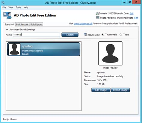 Profile Finder K G Sreeju Import Profile Picture From Active Directory To Sharepoint 2013 User
