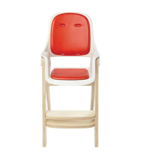 Oxo Tot Sprout High Chair by Oxo Tot Sprout High Chair Orange Birch