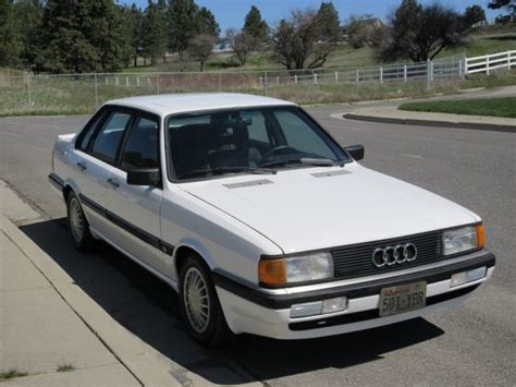 where to buy car manuals 1987 audi 4000cs quattro engine control classic 1987 audi 4000 cs quattro 5000 80 90 100 200 s1 s2 s3 s4 s5 s6 s7 s8 ur for sale