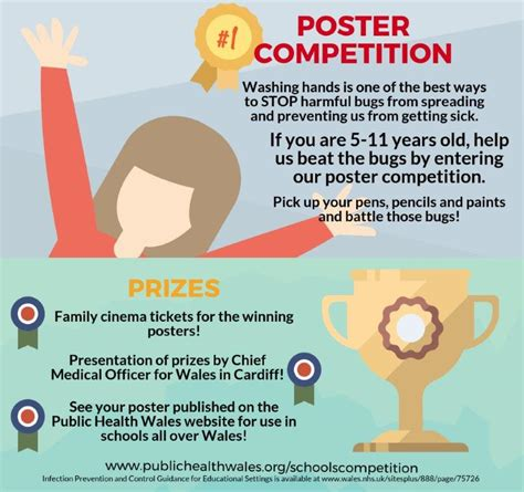 poster design competition guidelines public health wales schools hand washing poster competition