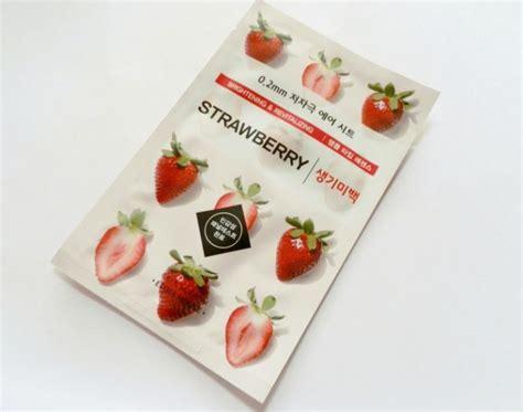 Masker Etude Strawberry etude house 0 2 therapy air mask strawberry review makeupandbeauty