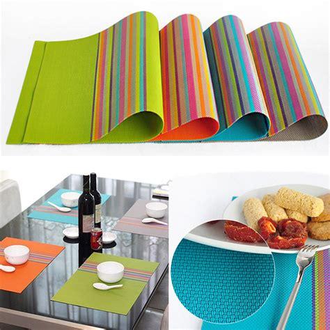 Aliexpress Buy 4pcs Set Placemat by Aliexpress Buy 4pcs Set Pvc Placemat Dining Table