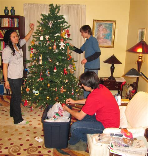 setting up christmas tree hadley ives page 6 from fall and winter 2010 2011