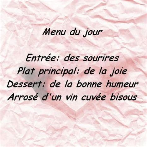 Message De Bonne Humeur by Citations Option Bonheur Au Menu De Chaque Jour