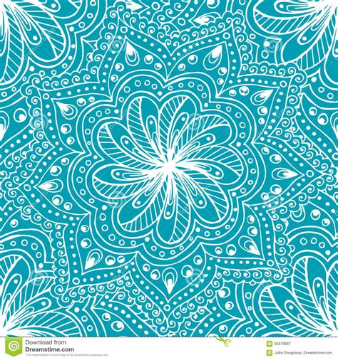 paisley pattern doodle doodle seamless background in vector with doodles flowers