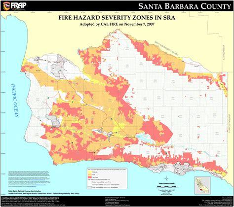 santa barbara map santa barbara map map3
