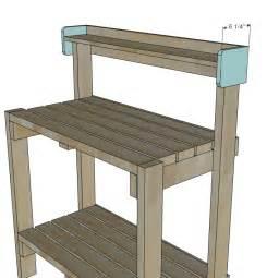 simple potting bench garden potting table diy potting bench plans diy