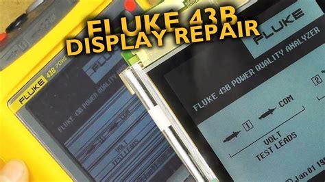 Lcd Fluke fluke 43b lcd repair