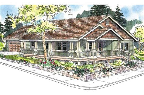 craftsman house designs craftsman house plans karsten 30 590 associated designs