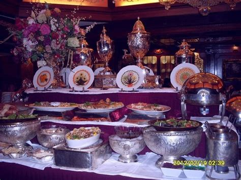 buffet salad station picture of the manor restaurant