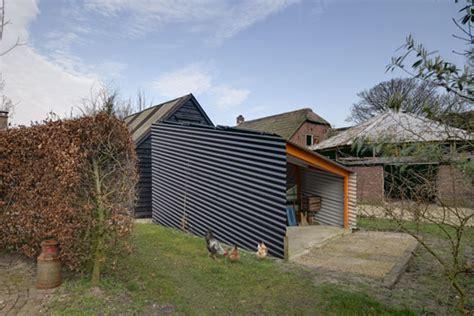 schuur zonnepanelen rv architectuur