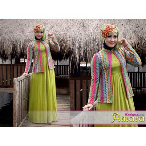 Baju Muslim Kimora Tosca 210615 new amara hij pupus baju muslim gamis modern