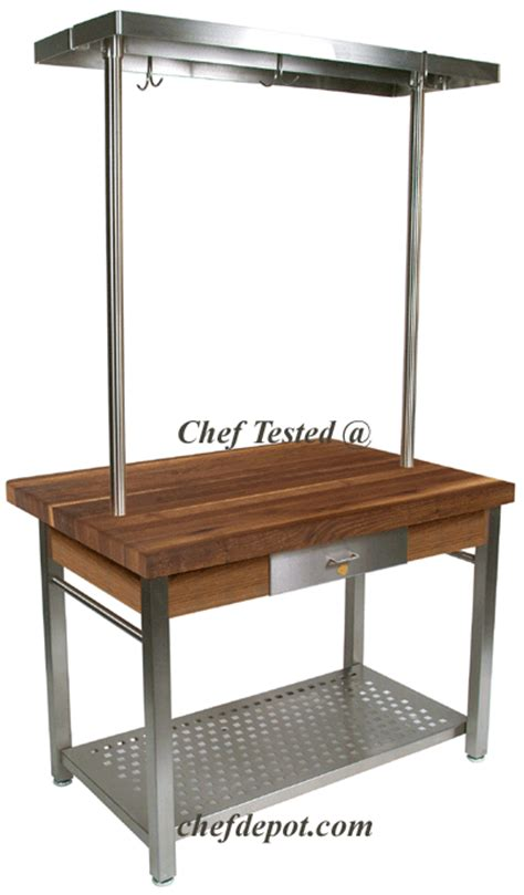 Kitchen Island Cart With Pot Rack Boos Boos Kitchen Tables Maple Tables Maple