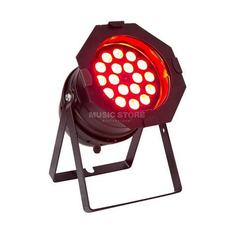 Lu Led Par 54x1 Rgbw lightmaxx led par 64 mega black 18x 8w rgbw leds