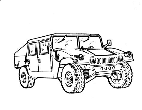 amazing vehicle army coloring pages with army coloring page