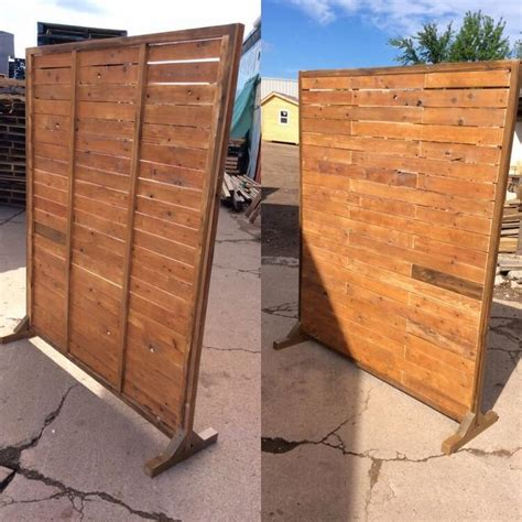 Pallet Room Divider Cheapest Diy Ideas With Shipping Wood Pallets Pallet Wood Projects