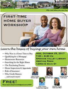Free Time Home Buyer Workshop by Time Home Buyer Seminar Flyer Real Estate And