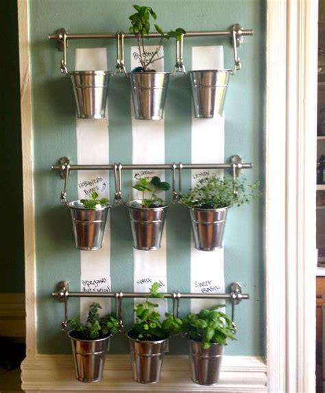 Hanging Indoor Herb Garden Wall Hanging Herb Garden