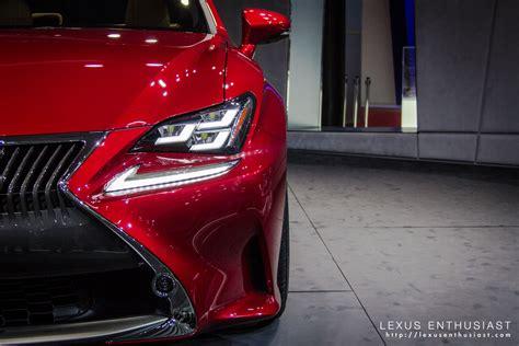 lexus lit lexus rc tokyo headlight