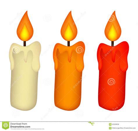candela di cera il natale esamina in controluce l insieme icona bruciante