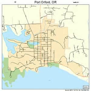 port orford oregon map 4159250