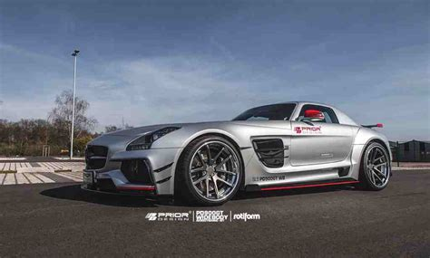 new photos of the prior design mercedes sls amg pd900gt