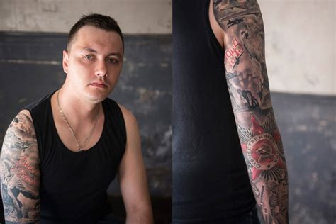 russian tattoo history tattooed russia a declaration of love captured on the