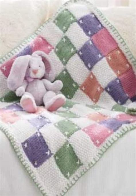 Patchwork Baby Blanket Pattern - free baby crochet patterns best collection the whoot