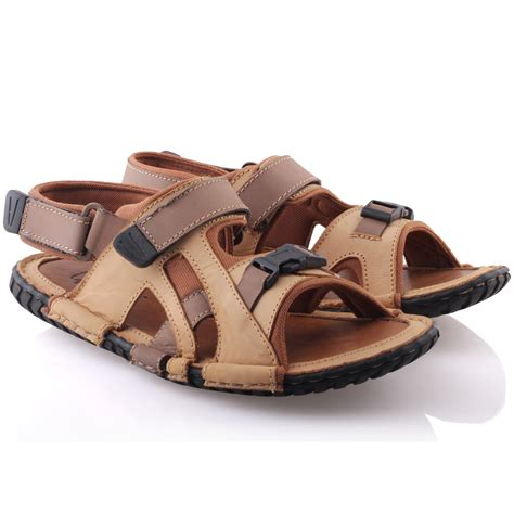 mens summer sandals unze mens leather kahn comfortable summer sandals uk size