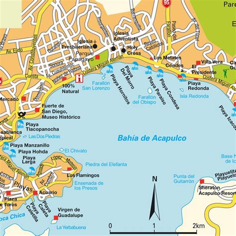 Home Design Map Free by Map Acapulco Mexico Maps And Directions At Map