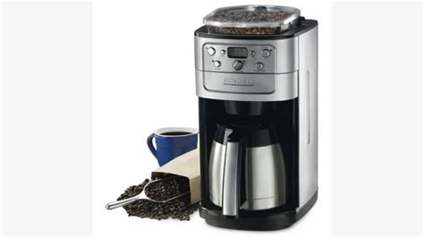 Cuisinart Fully Automatic Burr Grind Brew Thermaltm Cup On Com Cuisinart Dgb Bk Cup Automatic