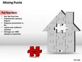 theme template is missing powerpoint theme diagram home h missing puzzle ppt