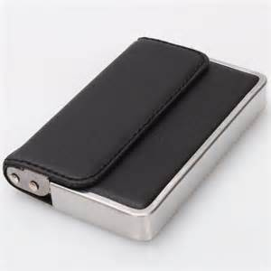 business card wallet holder mens wallet business id card holder stainless steel