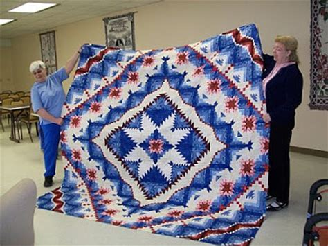 Eureka Quilt by Woodland Quilts Brag Eureka Quilt Top