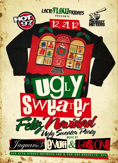 Sweaters Flyers by Flow Fridays Presents Feliz Navidad Sweater