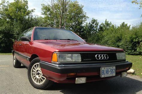 Audi Avant Canada by Mint 1986 Audi 5000cs Avant For Sale In Ottawa Carscoops