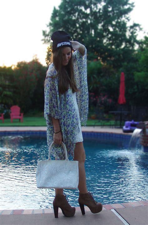 Kimono Blouse Nobby mallory bailey outfitters beanie bcbg kimono