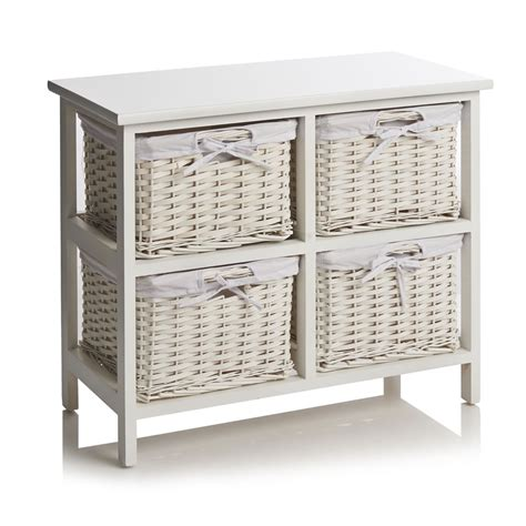 Wooden Drawer Storage Unit by Wooden Storage Unit With Baskets Quotes