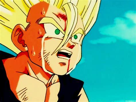 imagenes de vegeta llorando dragon ball z gifs megapost manga y anime taringa