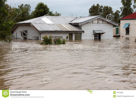 the insurance house flooded insurance house stock photography image 17870032