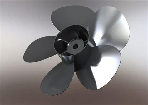 solidworks tutorial propeller 5 blade propeller